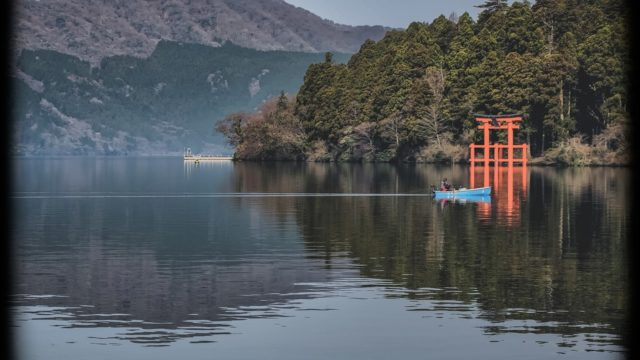 アラサー女子の私にはありがたい!?箱根神社、九頭龍神社のご利益!1