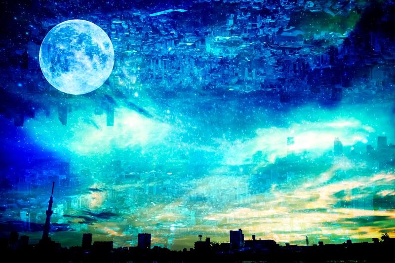 スーパームーン2021、2022はいつ?見頃の時間、満月と呼び方の違いも1