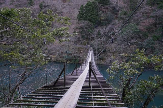 井川大橋のアクセス、住所、幅は?おでんや温泉がある?オクシズに?3