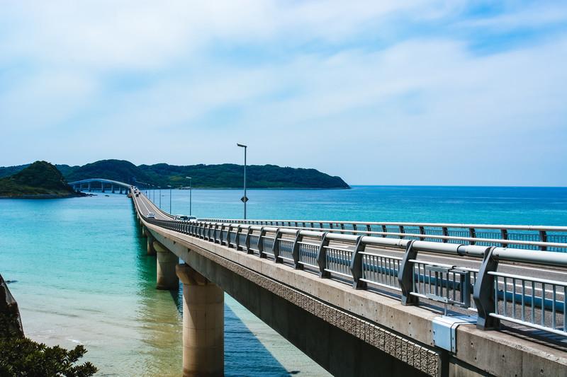 角島大橋の読み方、長さ、新幹線でアクセス?歩ける?自転車で渡れる?アイキャッチ用