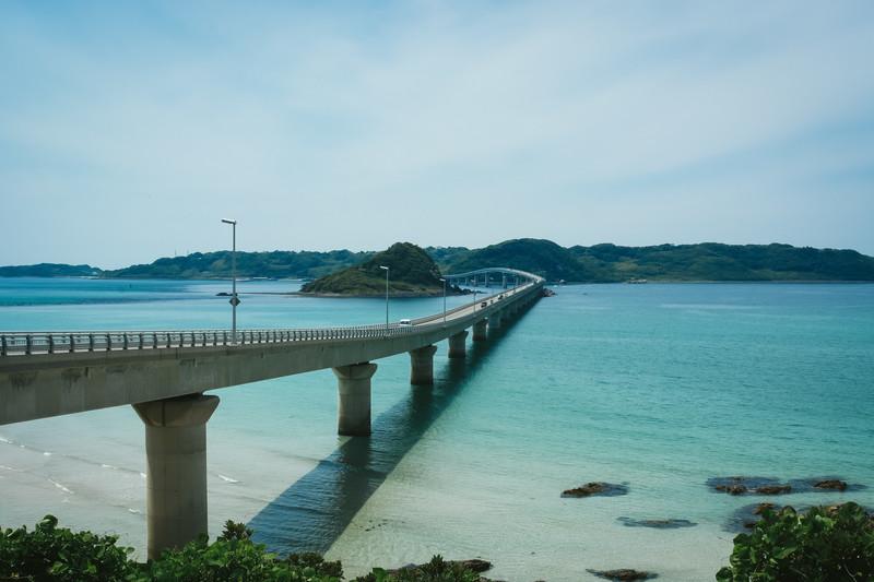 角島大橋の読み方、長さ、新幹線でアクセス?歩ける?自転車で渡れる?1