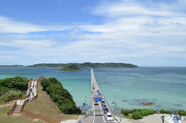 角島大橋の読み方、長さ、新幹線でアクセス?歩ける?自転車で渡れる?6